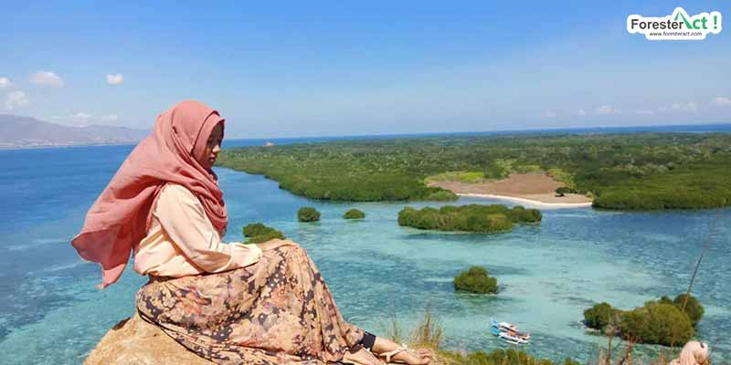 Spot foto di Pulau Kambing (instagram.com)