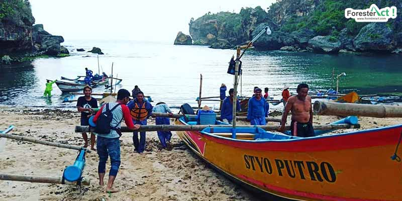 Nelayan Pantai Ngrenehan (instagram.com)