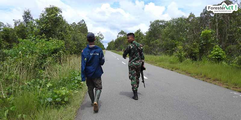 Jalan Trans Papua (Diambil oleh Siti Hudaiyah)