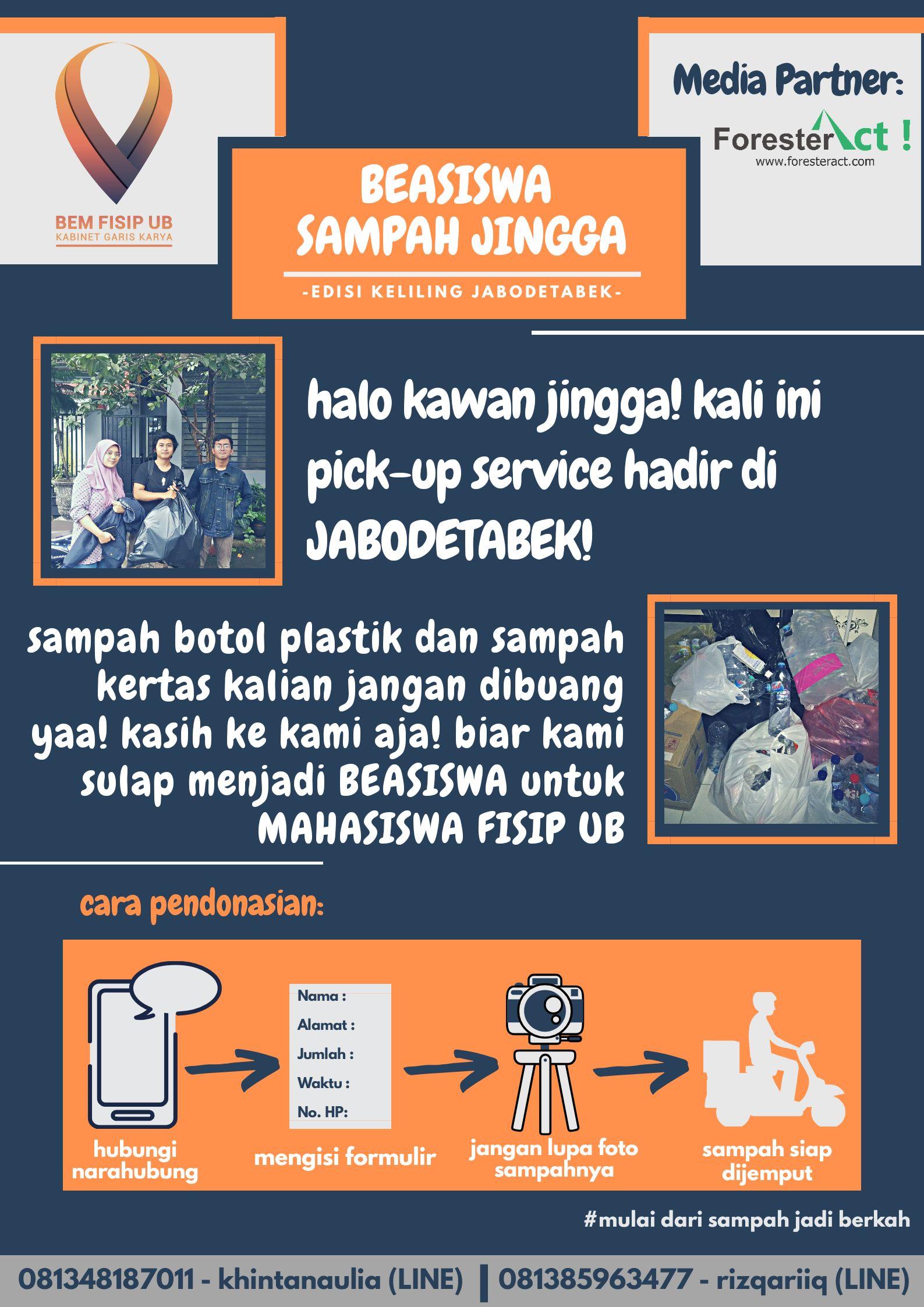 Beasiswa Sampah Jingga