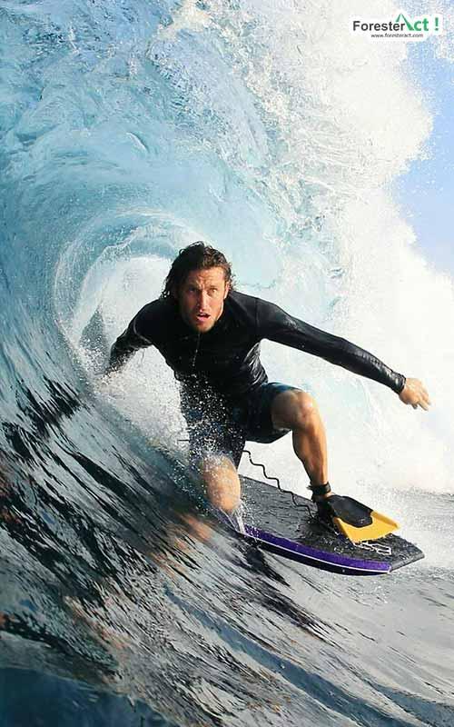 Ilustrasi surfing (instagram.com)