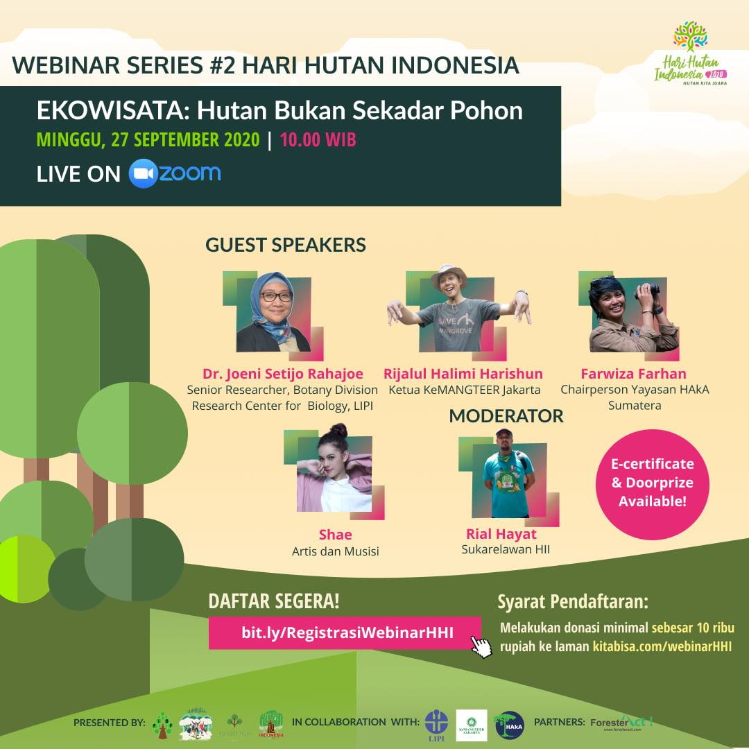 Webinar Hari Hutan Indonesia Series #2