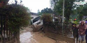 Kejadian banjir bandang di Aceh Tengah Mei 2020 lalu (Sumber: Detik News)