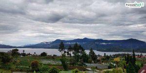 Pemandangan Danau Kembar Solok (instagram.com)