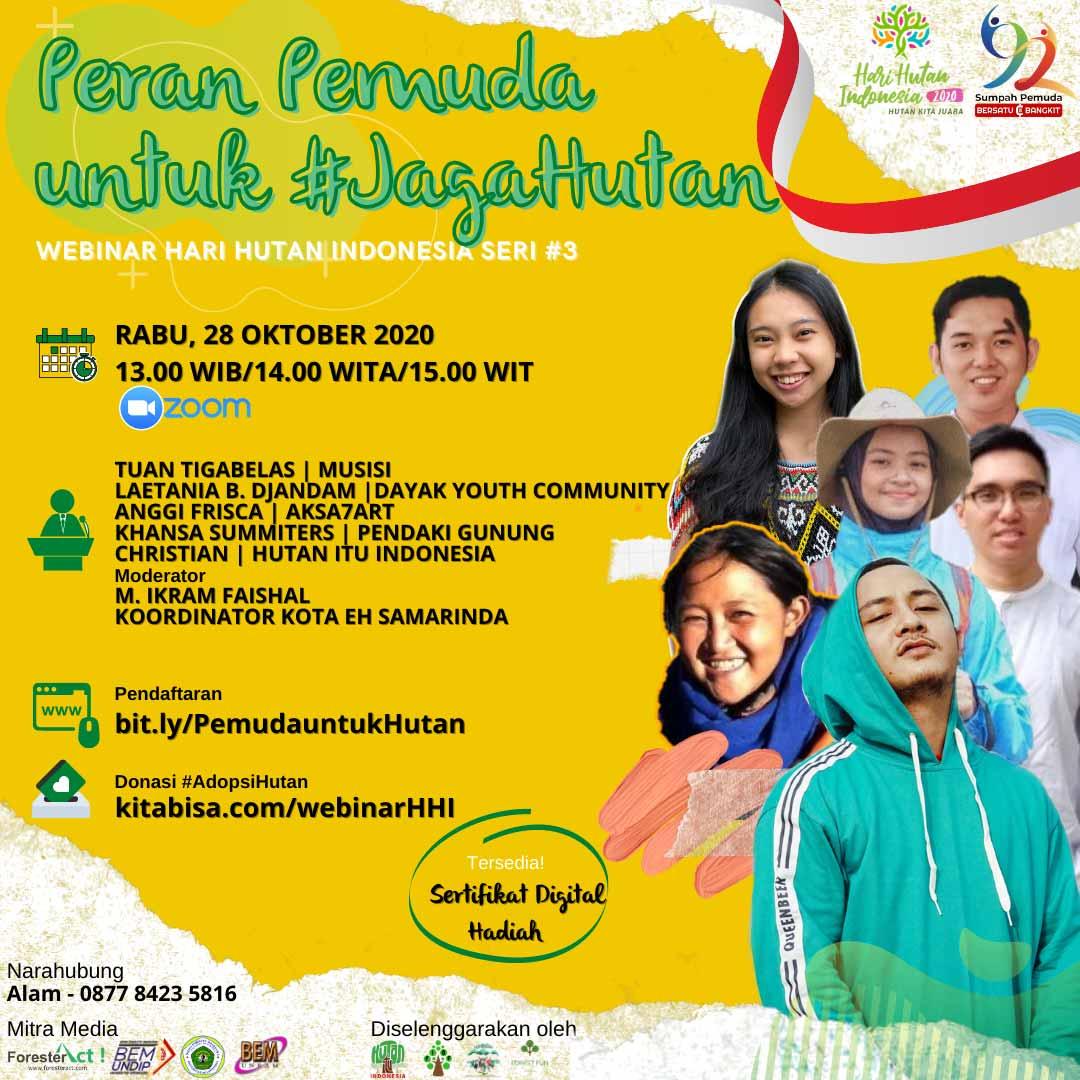 Webinar Hari Hutan Indonesia
