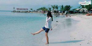 Berlibur ke Pantai Sari Ringgung (instagram.com)
